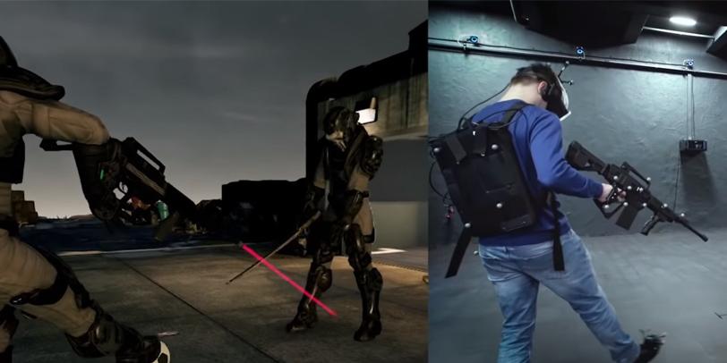 Картинка процесс геймплей анвио VR