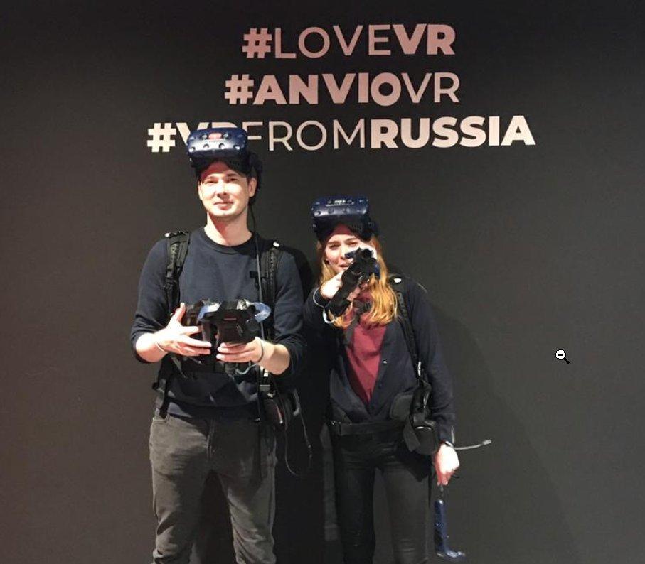 ANVIO VR отзыв настоящий виртуальная реальность анвио обзор